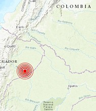 Sismo en Ecuador