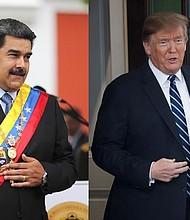 MUNDO. Foto Nicolás Maduro / Donald Trump