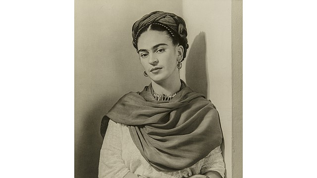 """Frida Kahlo """"The Classic"""" (Black and White), 1939. Nickolas Muray (American, born in Hungary, 1892–1965). Photograph, gelatin silver print. Anonymous gift."""