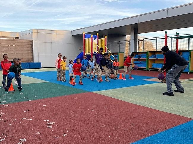 RECREACIÓN. Deportes y esparcimiento son algunas de las alternativas que ofrece el Departamento de Parques y Recreación de Washington DC.