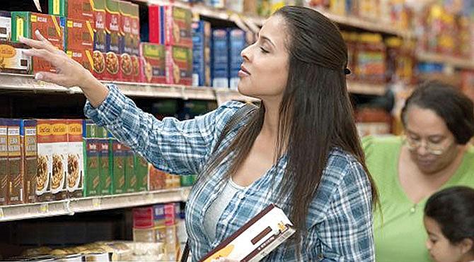 Obtenga sus estampillas de alimentos con anticipación