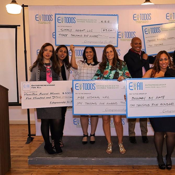 Ganadores de Negocios Exitosos en el programa de invierno de 2018