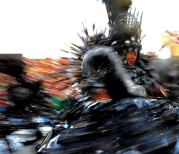 RÍO DE JANEIRO (BRASIL) - La celebración del carnaval, en el sambódromo de Marques de Sapucaí, en Río de Janeiro (Brasil).
