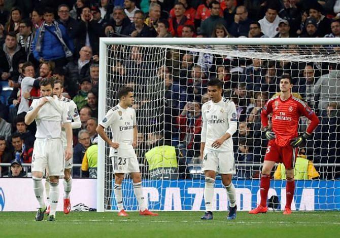 Real Madrid vive la peor noche de su historia en Copas de Europa