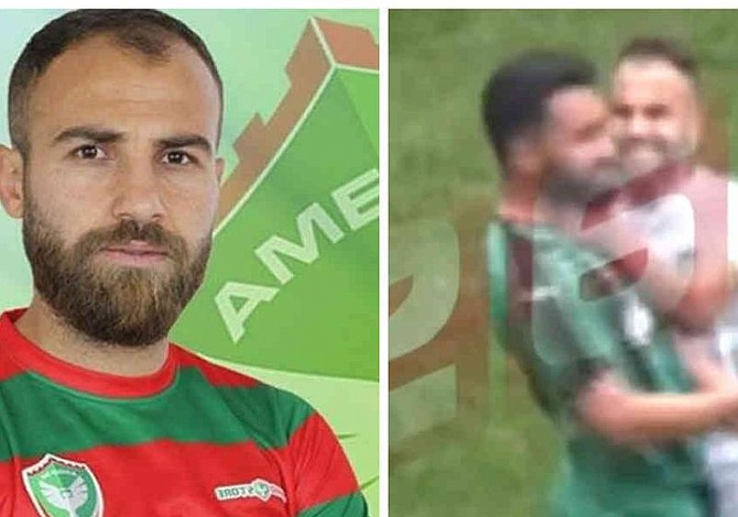 Un futbolista agredió con una cuchilla a cuatro rivales en pleno partido