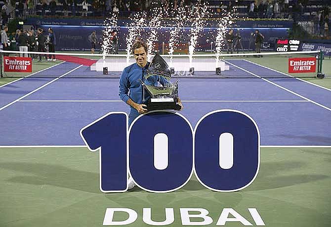 Roger Federer hace historia