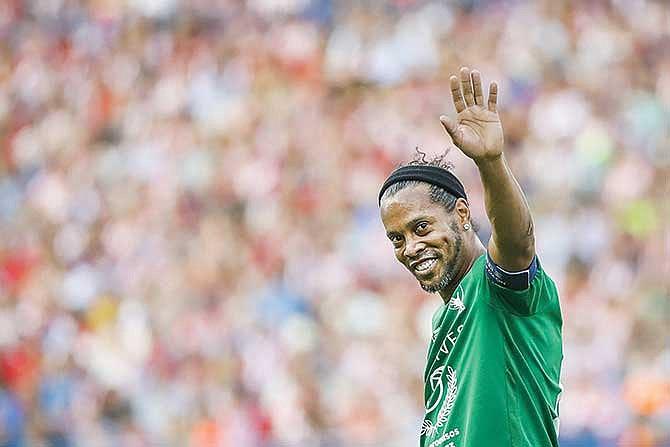Tour dedicado a Ronaldinho en el Maracaná