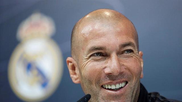 FÚTBOL. Fotografía de archivo tomada el 11/05/2018 en Madrid del entrenador francés Zinedine Zidane, que regresa al Real Madrid como técnico 278 días después de su marcha