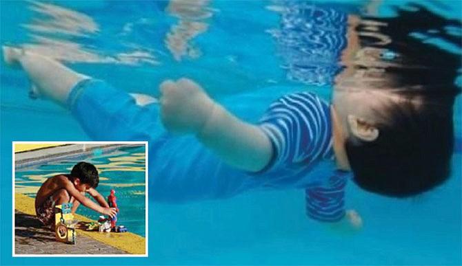 Alerta para evitar ahogo de niños en las albercas