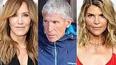 LOGROS SIMULADOS. Las actrices Felicity Huffman ('Desperate Housewives'), William Singer y Lori Loughlin ('Full House') son parte de los cincuenta acusados en el esquema que sobornaba, entre otros, a entrenadores deportivos universitarios.