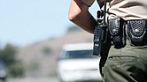 Sheriff a la caza de conductores ebrios.