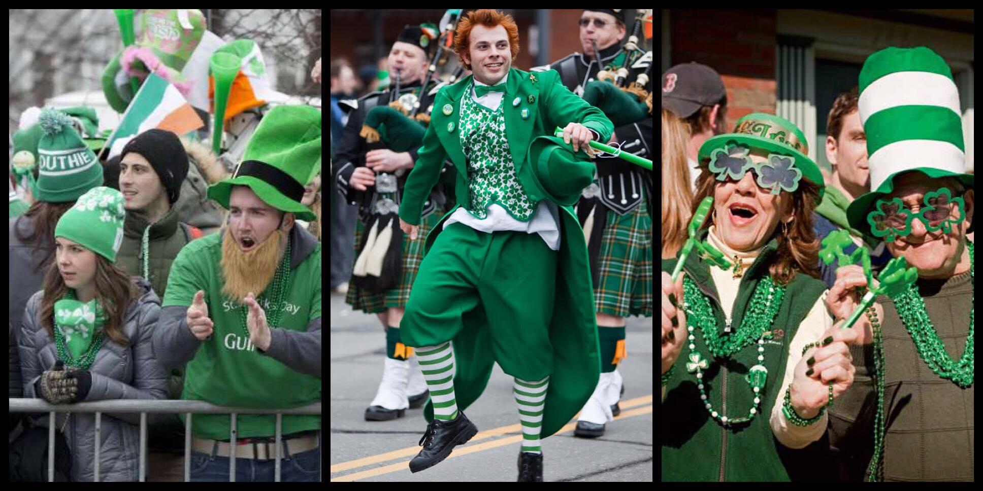 El desfile de San Patricio en Boston es uno de los más populares en todo el país.