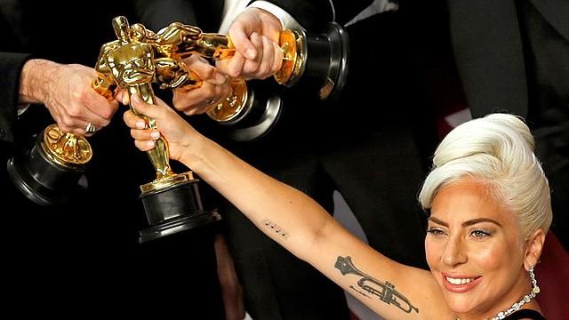 """SORPRESA. En la actualidad, Lady Gaga atraviesa por uno de los mejores momentos de su carrera artística, gracias a su participación en la cinta """"Nace una estrella"""", junto a Bradley Cooper"""