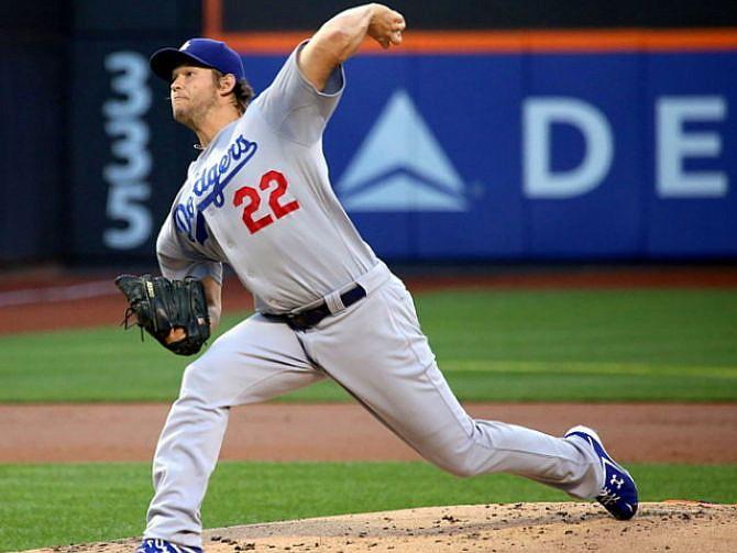 BEISBOL. Clayton Kershaw, abridor de los Dodgers de Los Ángeles