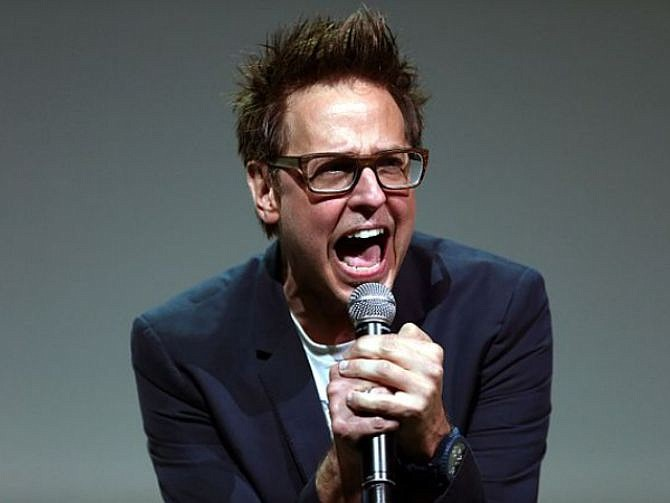 CINE. El director James Gunn