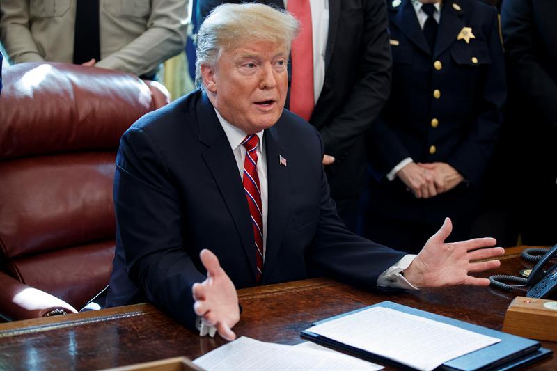 POLÍTICA. Presidente de Estados Unidos, Donald Trump