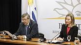 LLAMADO. En Montevideo, los cancilleres de la UE, España, Portugal, Italia, Alemania, Reino Unido, Francia, Países Bajos y Suecia, así como Uruguay, Ecuador, Costa Rica y Bolivia, también acordaron trabajar sobre la ayuda humanitaria.
