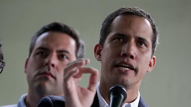 El líder opositor Juan Guaidó, reconocido como presidente interino de Venezuela por más de cincuenta países.