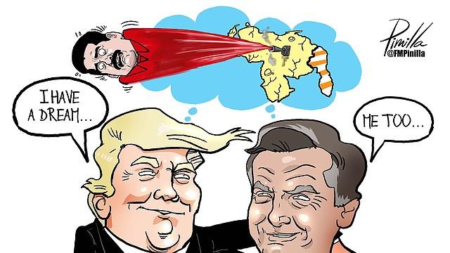 Caricatura de este viernes 22 de marzo de 2019