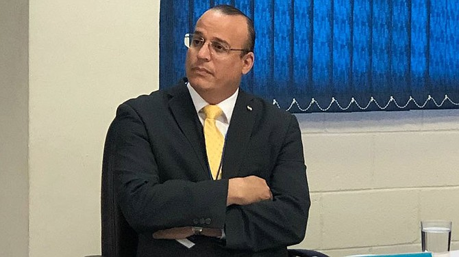JUSTICIA. Eduardo Jaime Escalante Díaz es magistrado de la Cámara Tercero de lo Civil de San Salvador.