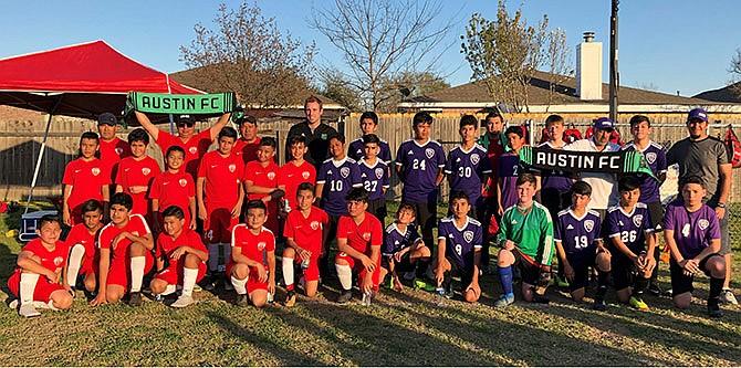 Academia del Austin FC  busca jugadores jóvenes locales