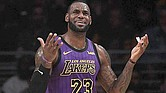 DESASTRE. LeBron James quedó fuera de los playoffs de la NBA tras derrota de los Lakers ante Brooklyn Nets.