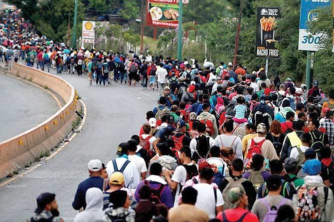 Ola migratoria no se detiene