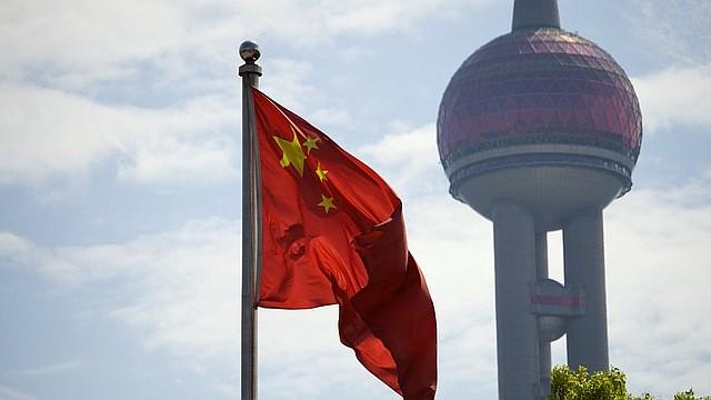 ARCHIVO. Foto de referencia de la bandera de China