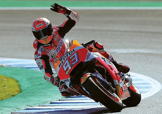Todo listo para el MotoGP 2019
