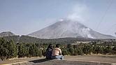 GRAN EXPECTATIVA. El volcán Popocatépetl ha registrado explosiones y emisión de ceniza, constantes exhalaciones y lanzamiento de fragmentos incandescentes. La erupción parece inminente.
