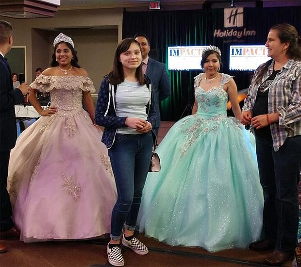 Karen Golón ganadora del vestido de XV, cortesía de Ricky's Events.
