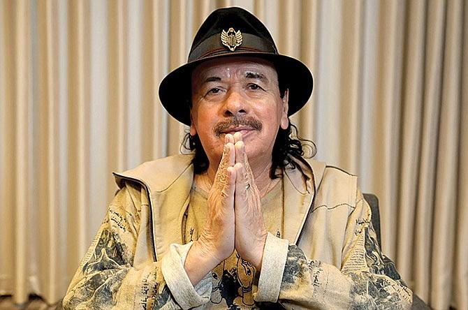 Santana lanza nuevo disco con ritmos africanos