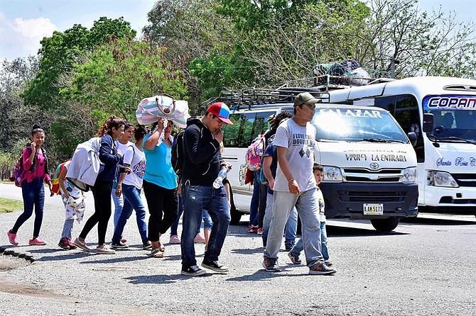 MÉXICO. Centenares de hondureños inician nueva caravana hacia EEUU