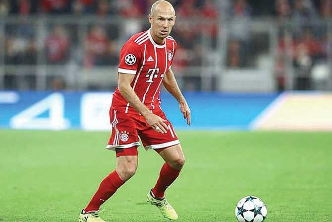 Arjen Robben es tentado por la MLS