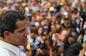 POLÍTICA. Juan Guaidó durante una concentración en Caracas el 10 de abril de 2019