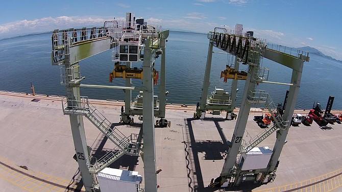 COMERCIO. Imagen del Puerto de la Unión en El Salvador