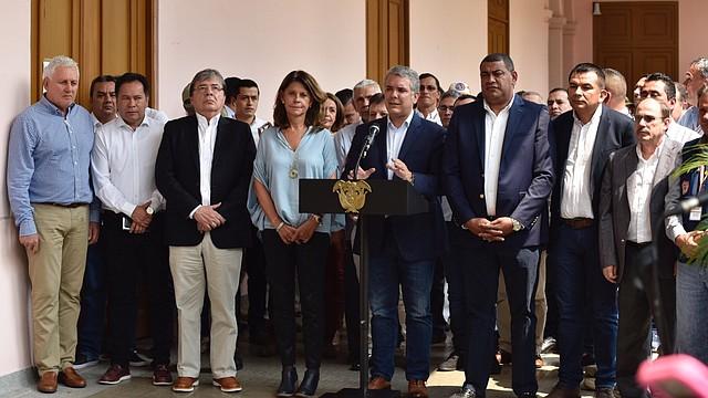 COLOMBIA - Duque aprueba presupuesto para solventar crisis migratoria