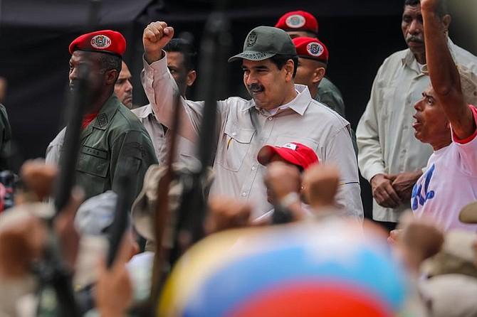 VENEZUELA. Nicolás Maduro preside un acto de Gobierno este sábado en Caracas
