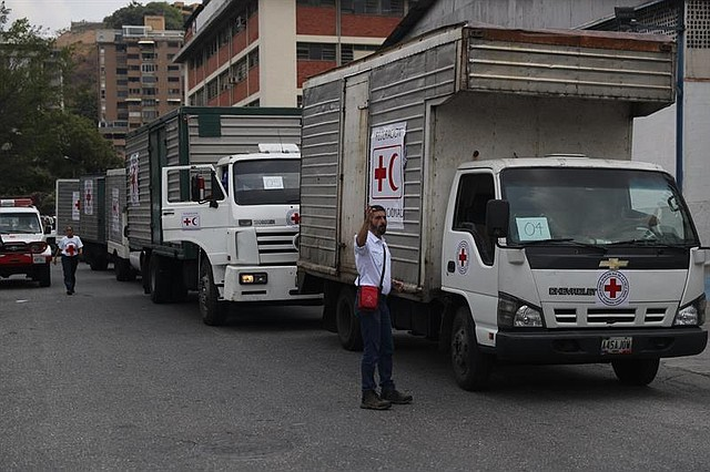 VENEZUELA. La Cruz Roja ingresa generadores eléctricos en ayuda humanitaria