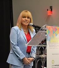 ÉXITO. Nicole Quiroga, presidenta de la GWHCC reveló que muchos de los miembros de la Cámara logran vencer obstáculos y triunfar en menos de 2 años.