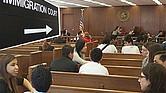 MEDIDAS. El Gobierno Federal pretende acabar con las salas vacías en las Cortes migratorias: los juicios serán más rápidos a partir del 1 de mayo.