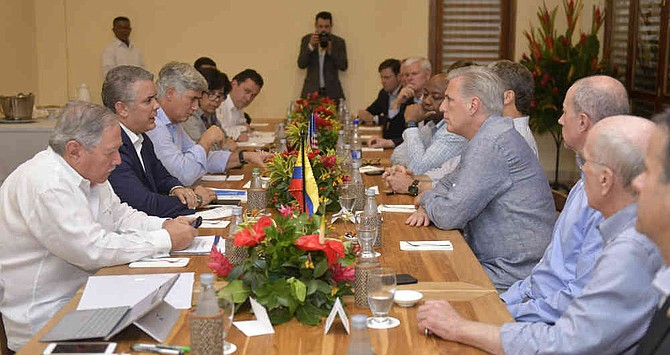 Venezuela, el tema con el que Duque retoma relaciones con congresistas de EE UU