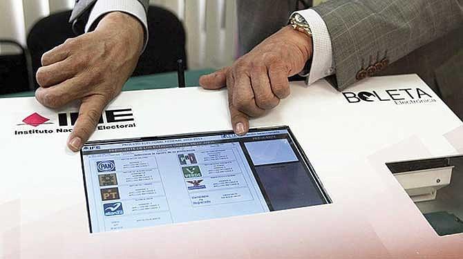 Un millón de mexicanos usará el voto electrónico