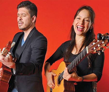 El dúo mexicano de guitarra acústica, Rodrigo y Gabriela.