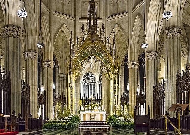 NACIONAL. Foto de archivo de la catedral de San Patricio, en Midtown Manhattan