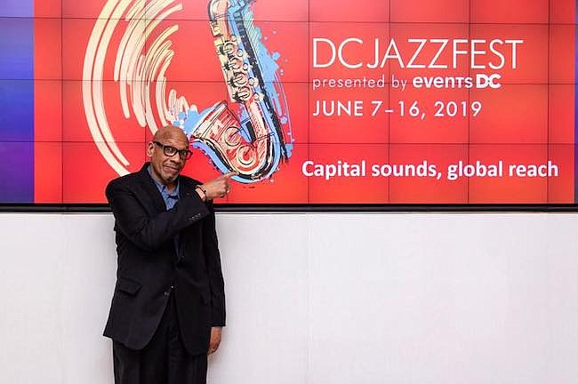 Anuncio. Willard Jenkins, director artístico del festival, durante la rueda de prensa para anunciar que el DC Jazz Festival pronto abrirá el telón.