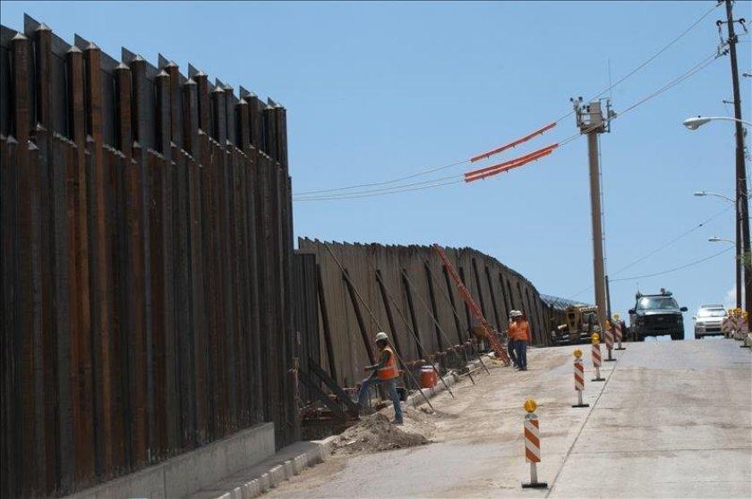 SEGURIDAD. La frontera sur ha experimentado una afluencia de inmigrantes en los últimos meses y los funcionarios dicen que esperan realizar hasta un millón de arrestos para fin de año.