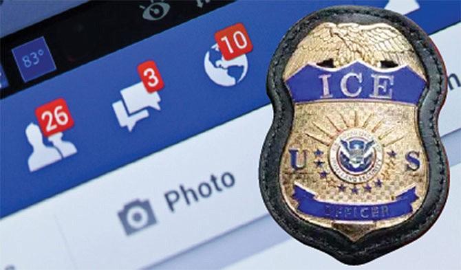 ICE usó cuentas falsas  en Facebook para  cazar indocumentados