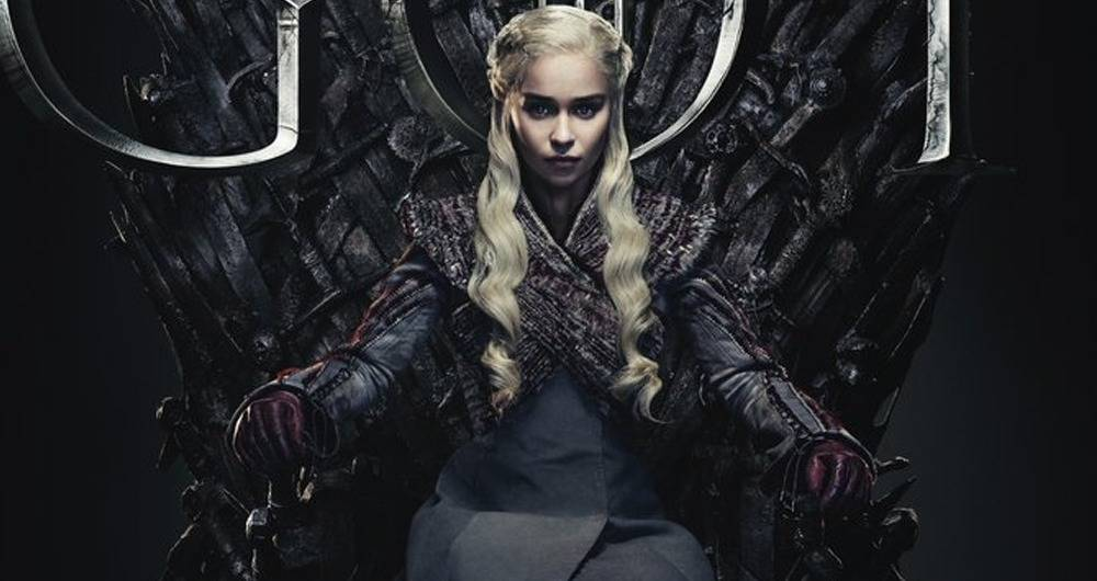 Daenerys Targaryen interpretada en Game of Thrones o Juego de Tronos por Emilia Clarke.