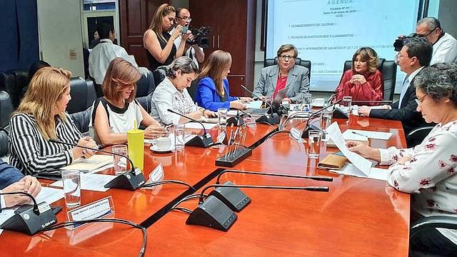 LEGISLACIÓN. La Comisión de la Mujer y la Igualdad de Género de la Asamblea Legislativa salvadoreña